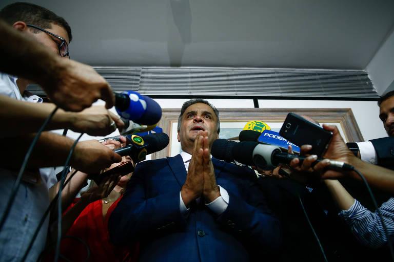 Após ameaça de Covas, aliados de Aécio falam em tribunal de exceção no PSDB