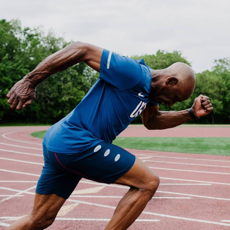 Charles Allie, recordista mundial nos 400 metros para pessoas acima de 70 anos