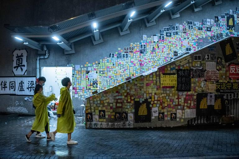 'Lennon Walls' em Hong Kong