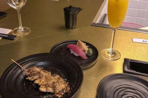 Sushi, robata e bellini do Minato Izakaya