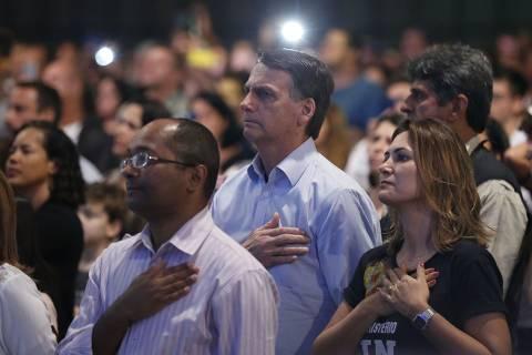 Apoio evangélico em 2022 indica Bolsonaro na ponta e entraves a Doria, Huck e PT