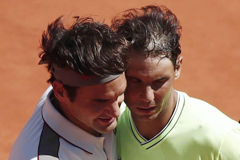 Jogos marcantes entre Federer e Nadal