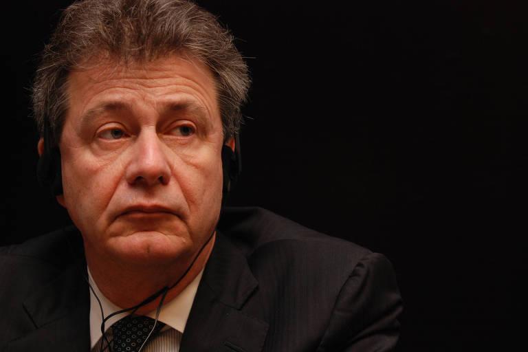 Clifford Sobel, então embaixador dos EUA no Brasil, durante evento em São Paulo