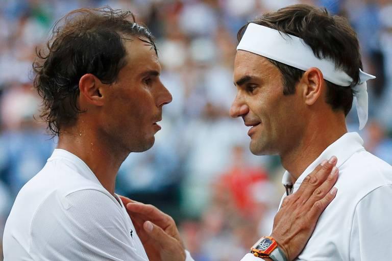 Capítulos da rivalidade entre Federer e Nadal