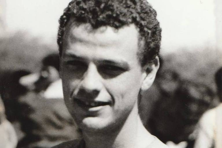 Cléber Luís Costa da Silva durante seus anos universitários.