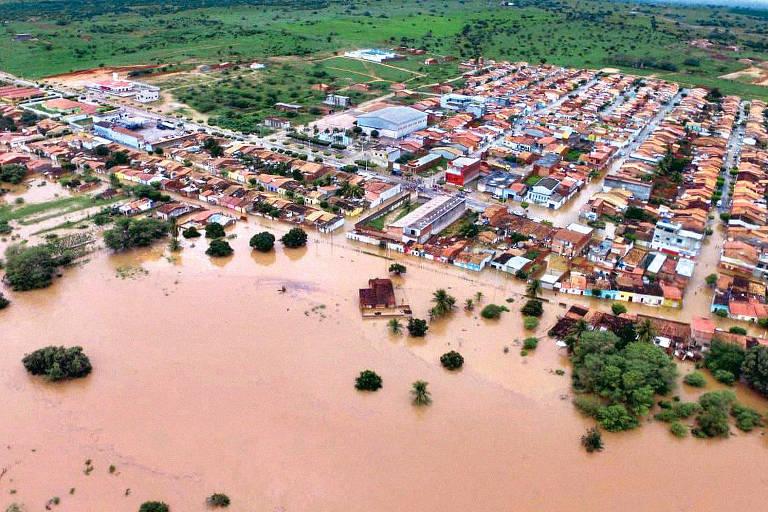 Cidade de Coronel João Sá após rompimento da barragem