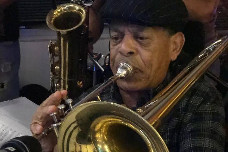 Mazinho do Trombone faleceu na quarta-feira (10)