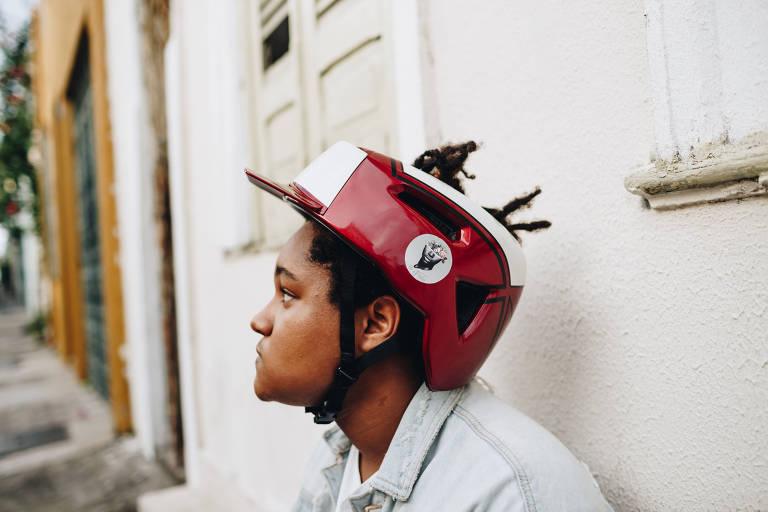 Forblacks, capacete de ciclismo para pessoas negras