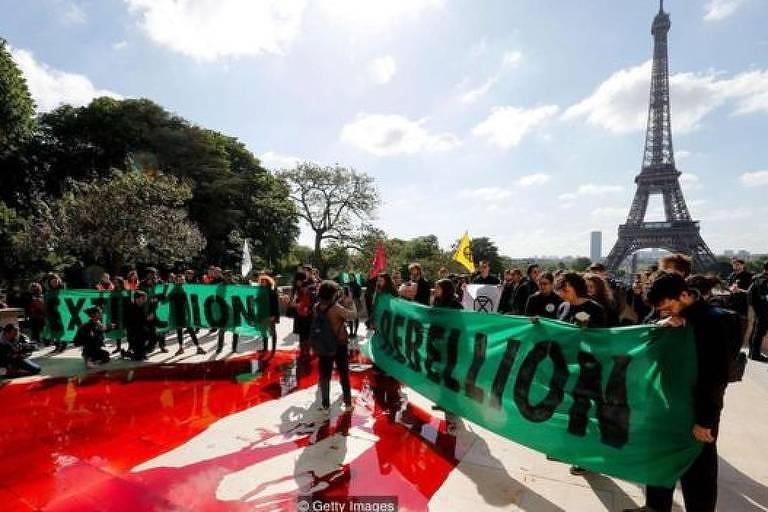 Os organizadores da Rebelião da Extinção afirmam que o trabalho de Chenoweth inspirou o movimento