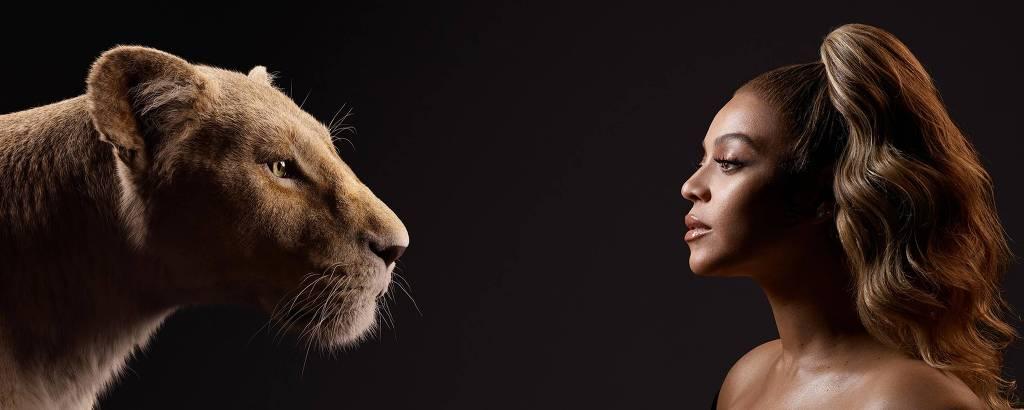 Rei Leão,Nala e Beyoncé