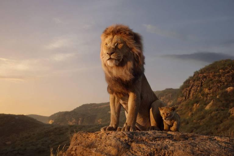 Cena de 'O Rei Leão'