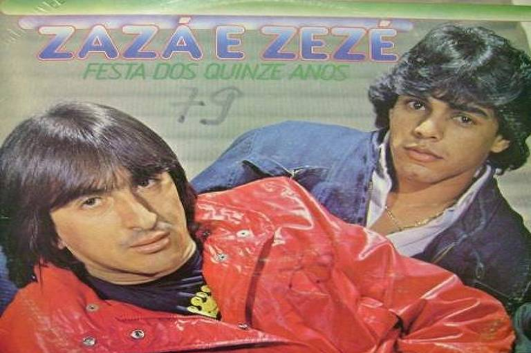 Capa de um dos discos lançados por Zazá e Zezé
