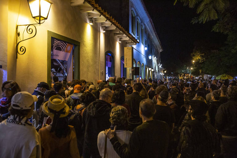 Mesa 'Androginia, Rock e Censura' da Casa Folha na Flip 2019