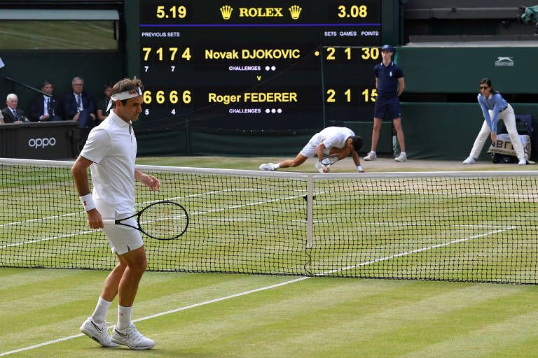 Final masculina do torneio de Wimbledon