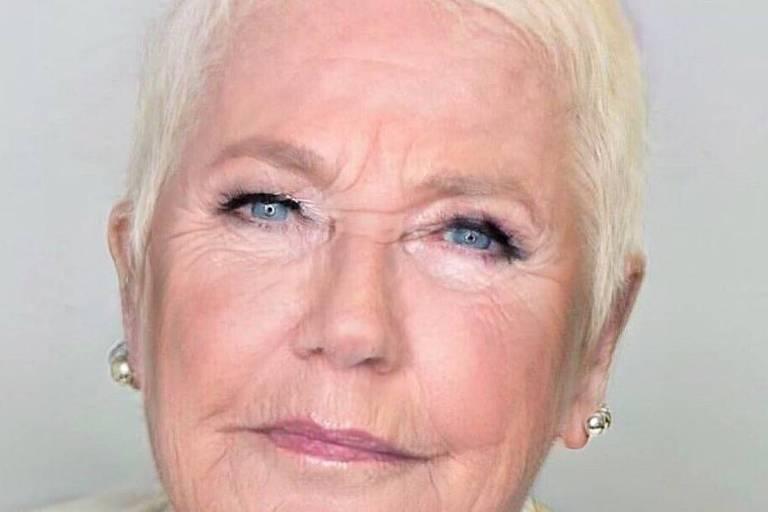Xuxa envelhecida por aplicativo