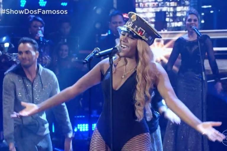 Ludmilla faz homenagem a Beyoncé na final do 'Show dos Famosos'
