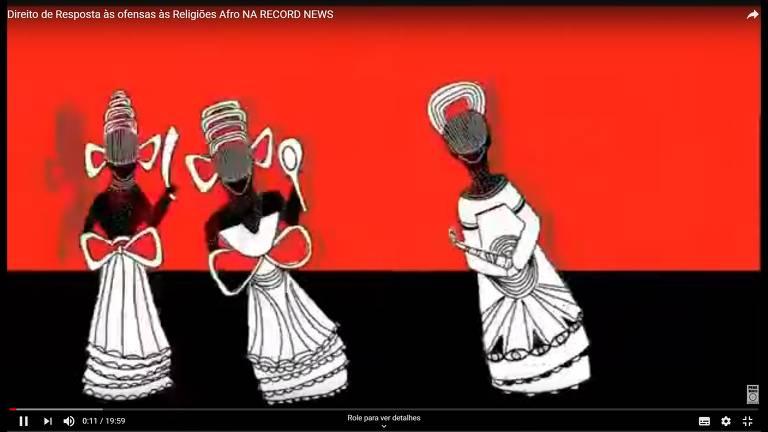 Veja as imagens do programa 'A Voz das Religiões Afro', da Record News