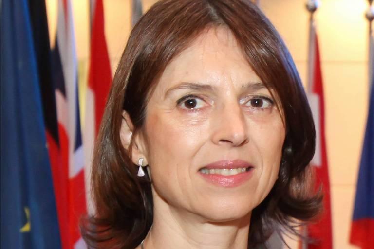 chefe da delegação da UE no Brasil, Claudia Gintersdorfer