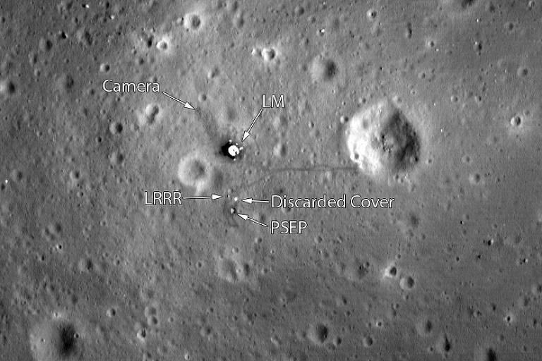 As evidências de que homem já esteve na Lua