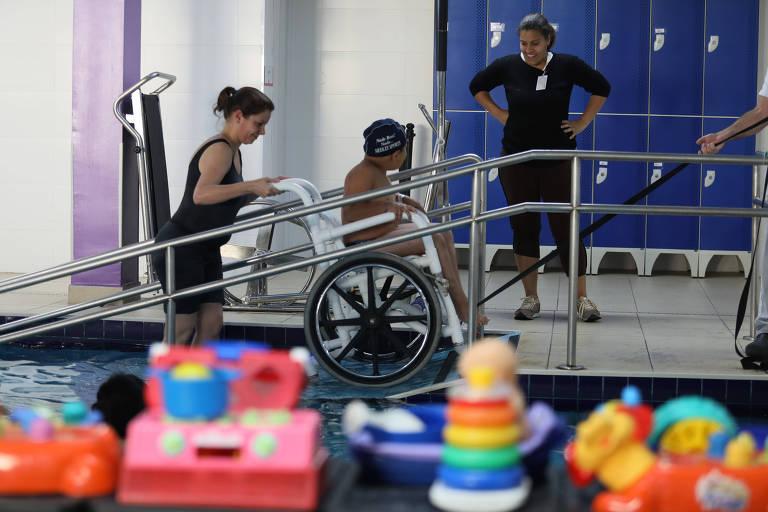 AACD tem ampliado suas modalidades de atenção à deficiência