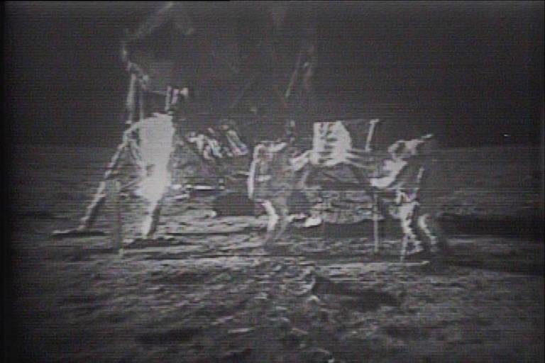 As Imagens da lua e da Apollo 11 presentes na coleção de fitas que serão leiloadas na Sotheby's na data do 50º aniversário do pouso na Lua