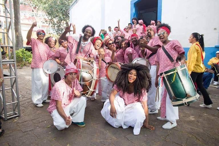 Grupo folclórico Samba Lenço de Mauá é representação do samba de bumbo, o samba rural paulista; coletivo é uma das atrações da 19ª edição do Festival de Inverno de Paranapiacaba, em Santo André