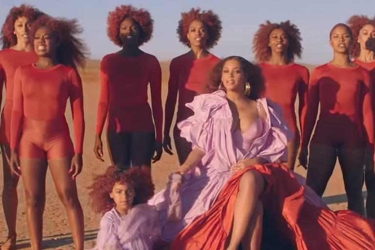 Beyoncé lança clipe de 'Spirit' ao lado de sua filha Blue Ivy