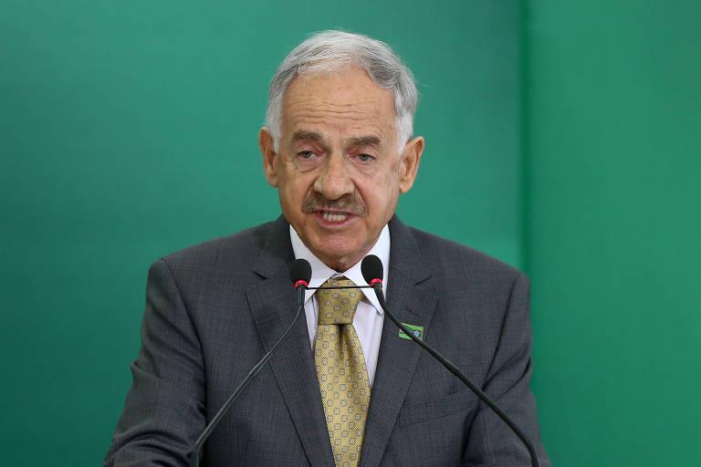 Presidente da Embrapa, Sebastião Barbosa, no Palácio do Planalto durante posse de Jair Bolsonaro