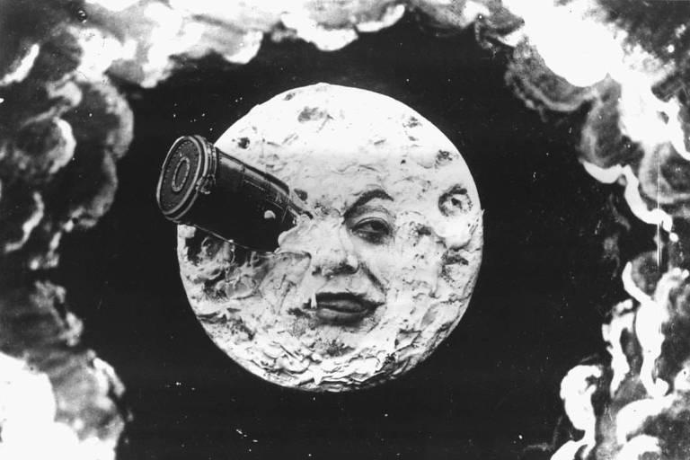 """Cena de """"Viagem à Lua"""""""