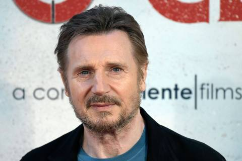 British-US actor Liam Neeson poses during the photocall of