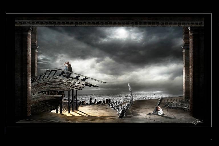Theatro Municipal estreia ópera 'Rigoletto', de Giuseppe Verdi