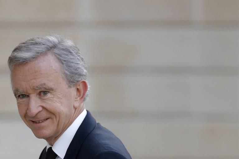 Bernard Arnault, do grupo de luxo LVMH