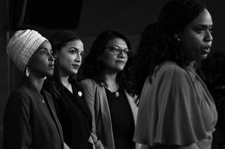 Representatives Omar, Pressley, Ocasio-Cortez, and Tlaib in Response to President's Comments