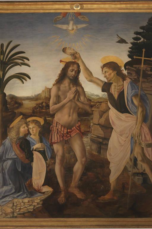Quadro Batismo de Cristo