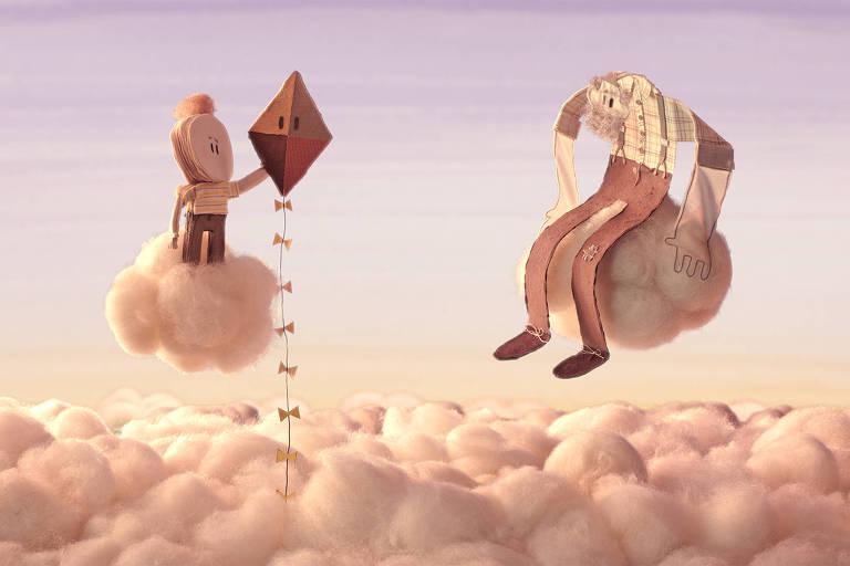 """Cena de """"A Pipa"""", exibido no Anima Mundi em Curtas Infantis 4"""