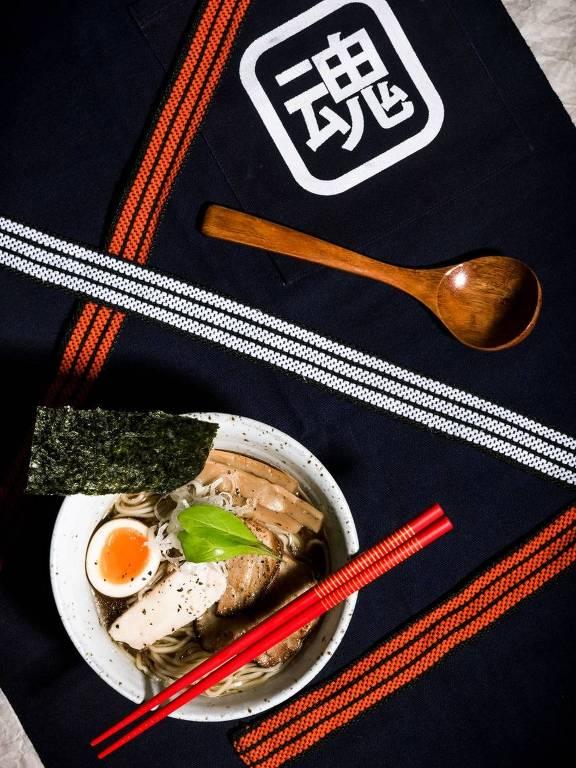 Shoyu ramen, principal destaque no menu do novo Tamashii Ramen, novidade em Pinheiros