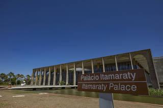 Vista do Palácio do Itamaraty, sede do Ministério das Relações Exteriores do Brasil
