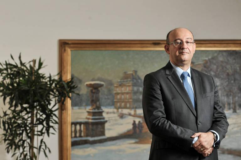 Chefe do Ministério Público de São Paulo, procurador-geral de Justiça Gianpaolo Smanio, durante entrevista à Folha