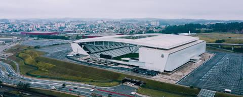 São Paulo, SP, Brasil, 16-07-2019: Arena Corinthians (Itaquerão). Avenida Miguel Ignácio Curi, 111 - Itaquera.  (foto Gabriel Cabral/Folhapress)