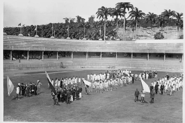 Os Jogos Latino-Americanos de 1922