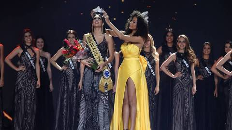 Mayra Dias, candidata do Amazonas, vence o Miss Brasil Be Emotion 2018