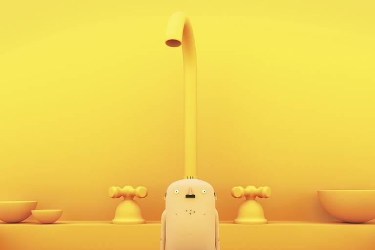 """Cena de """"Human´s Stuff"""", exibido no Anima Mundi em Curtas 10"""