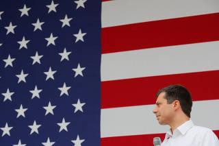 Democratic 2020 U.S. presidential candidate Mayor Pete Buttigieg's campaign stop in Dover