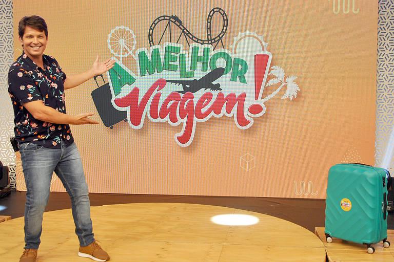 """""""A Melhor Viagem"""" é um novo programa da Rede TV! apresentado por  Mario Frias"""