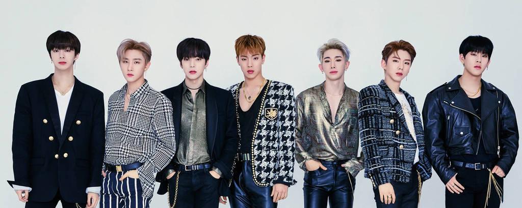 O grupo de k-pop Monsta X