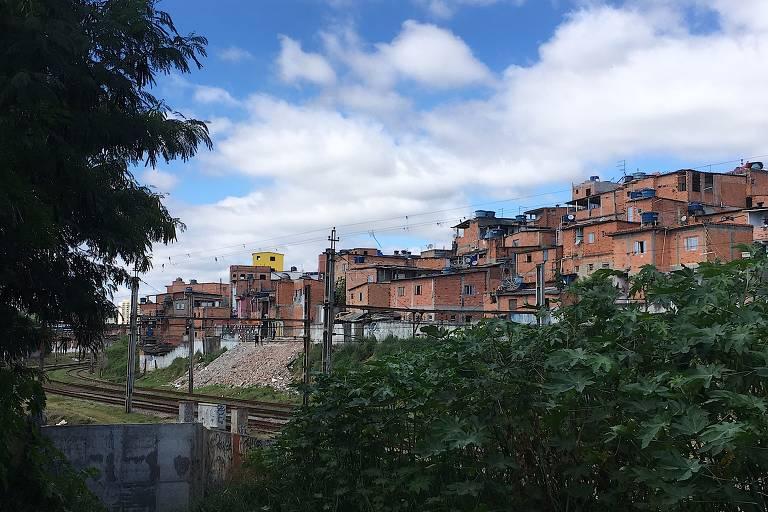 Favela Porto de Areia, em Carapicuíba