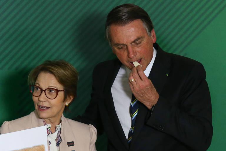 Cerimônia de 200 dias de governo Bolsonaro