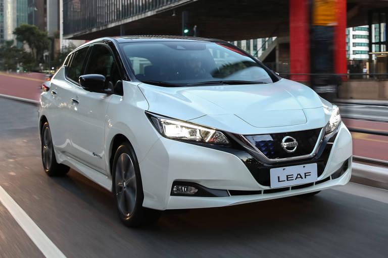 Nissan Leaf começa a ser vendido no Brasil
