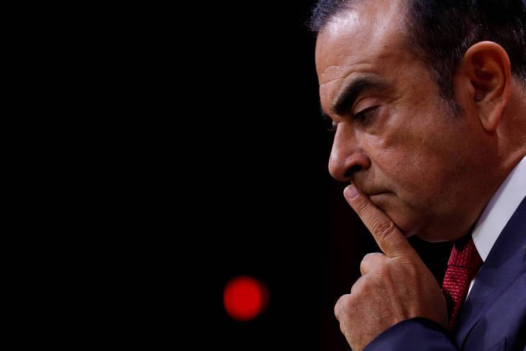 Ex-presidente da Renault-Nissan Carlos Ghosn