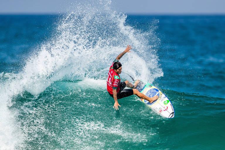 Em Saquarema, no Rio de Janeiro, palco da quinta etapa do ano, ele voltou a ocupar a quinta colocação